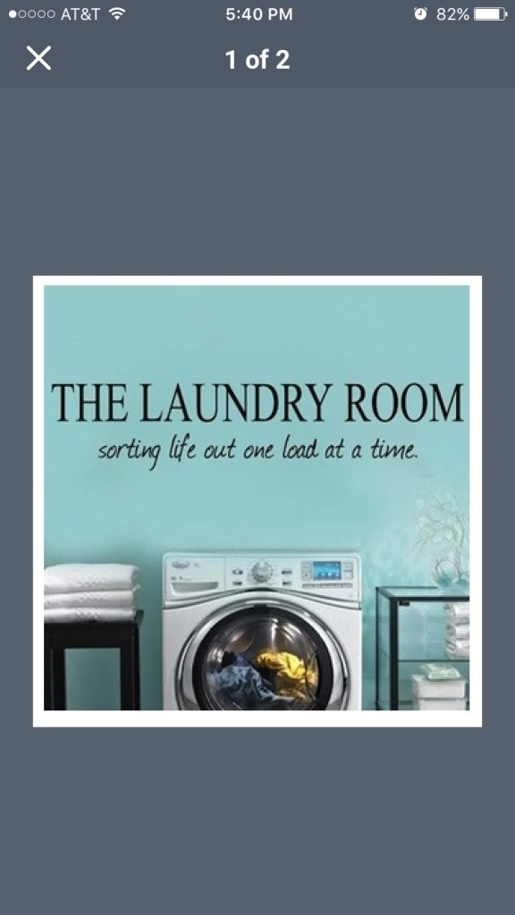 Used, the laundry room poster for sale  Saint Petersburg