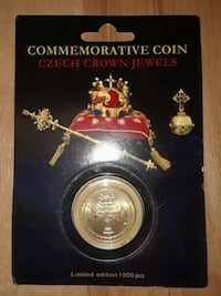 Commemorative Czech coin - limited edition!