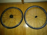 two black-and-gray bicycle wheels Seattle, 98133
