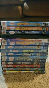 15 thomas the train dvds