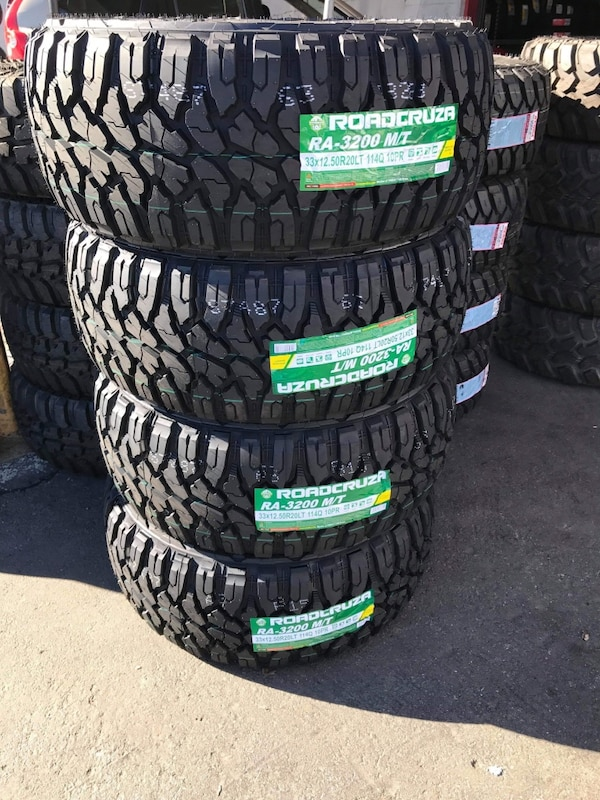 Used Mud Tires For Sale >> 33x12 50r20 Set Of 4 Mud Tires On Sale