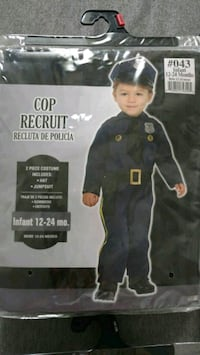 Cop Costume for Kid Reston, 20190