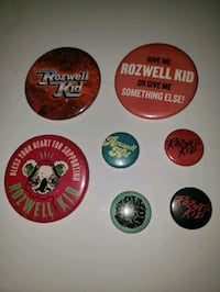 Rozwell Kid Band Buttons