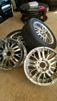6 lug f150 rims 20 District Heights, 20747
