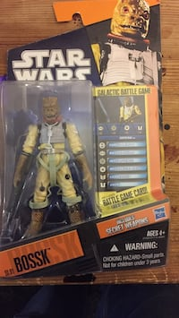 star wars sl01 bossk galactic battle game includes battle game card and secret weapons 546 km