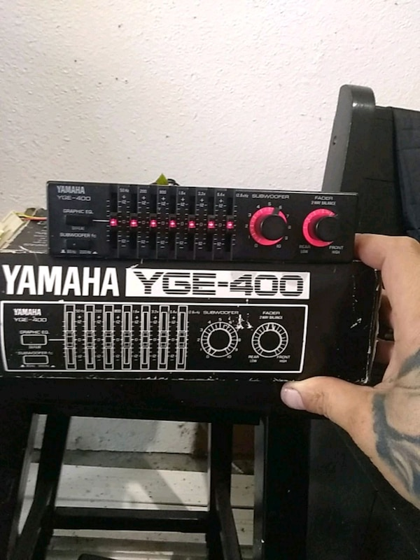 Yamaha YGE-400 car audio equalizer