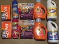 Tide and gain detergent bottles Frederick