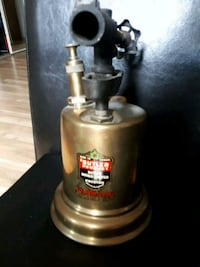 Vintage oil torch made in Ontario Butler Product Port Hope, L1A 1N4