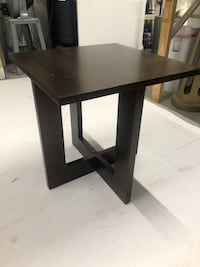Square black wooden coffee table Norfolk, 23513