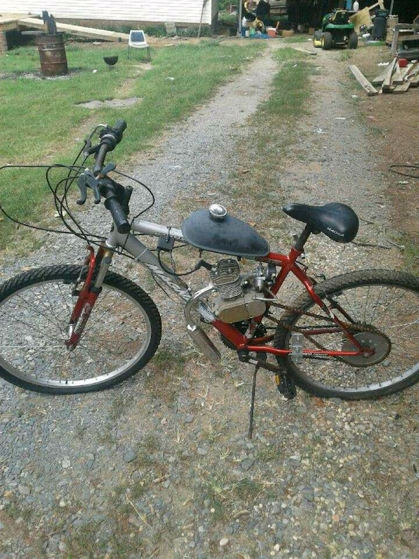 GAS POWERED BICYCLE