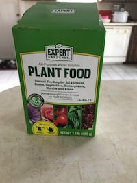 Expert gardener all-purpose water soluble plant food box Inverness