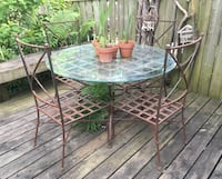 Wrought Iron Patio Set Toronto, M4V 1Y9