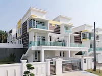 New luxury Johor Bahru Double Storey Cluster House's best price sale null