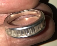 Silver 925 ring size 9.price is negotiable North Vancouver, V7K 1A7