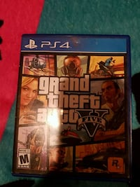 Grand Theft Auto 5 - Good Condition - Ps4 Game Leesburg, 20176
