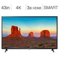 LG 43UK6090 43-in. Smart UHD 4K TV Brampton