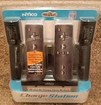 *BRAND NEW* Wii NYKO CHARGE STATION FOR REMOTE - DUAL PORT - 2 NiMH BA Newmarket