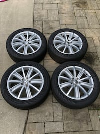 Volkswagen Original Rims and Tires package  Mississauga, L5H 1P6