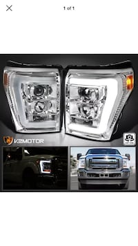 11-16 Ford F-250 super duty led headlights La Puente