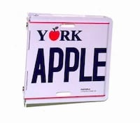 NEW:   $10.00    New York Folding Metal License Plate Photo Album – Holds (60) 4″ x 6″ Photos DISTRICTHEIGHTS