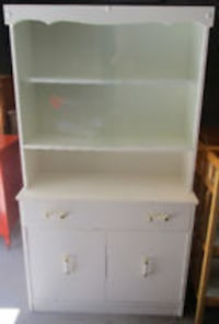 white wooden cabinet with shelf N1S 1G3