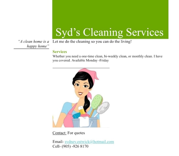 House cleaning in Courtice - letgo