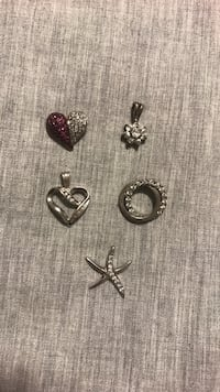 Necklace pendants - all or pick which one(s) Natick, 01760