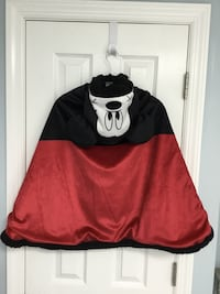 Disney Mickey Mouse costume cape - hooded, fleece lined Point Pleasant, 08742