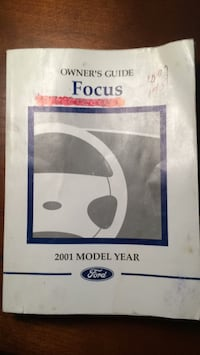 Ford Focus 2001 Owner's Guide Accokeek, 20607