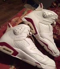 Jordan 6 red and white.  Lafayette, 70501