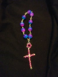 purple and blue beaded necklace Albuquerque, 87107
