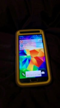 Blue Samsung android smartphone with case Taunton, 02780