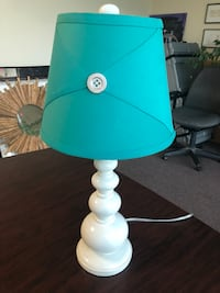 """White Wood Lamp from Model Home-21"""" Tall Citrus Heights, 95610"""