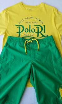 2 Piece Ralph Lauren Polo Size L 14-16