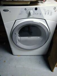 white front-load clothes dryer  Lake Ariel, 18436