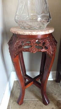 Marble Top/ Decorative Wooden Stand Brampton, L6X 4L9