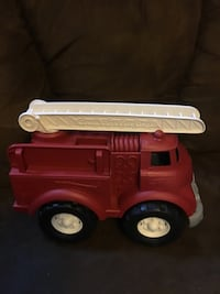"Green Toys Fire Truck 9"" X 6"" X 8"" Pick up Markshuffel and Constitution  Cross Posted Colorado Springs, 80951"