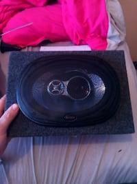 black and gray subwoofer speaker Searcy