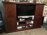 brown wooden TV hutch Rayne, 70578