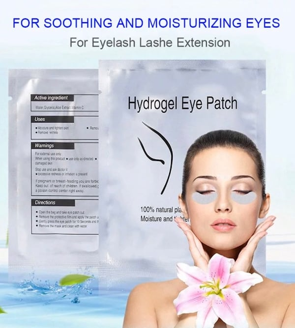 Lot 200 eye patch eyelashes extensions pads gel mask make up cosmetic f81f2089-73cb-499e-ae2e-ca9639326f78