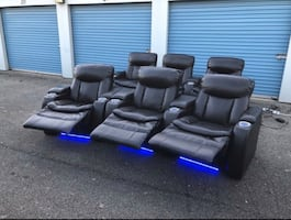 Power Reclining Theater Chairs
