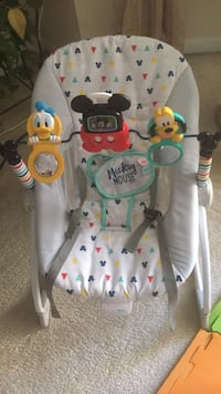 Baby's white and green bouncer Stafford, 22554