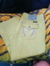 New miss me capris lime green size 30 Las Cruces, 88007