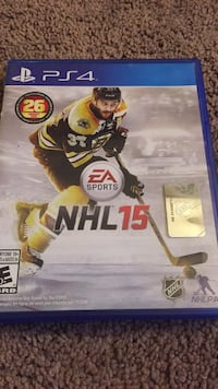 Nhl 15 ps4 game Beaumont, T4X