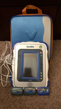 VTech innotab with carrying case and 3 games Middlesex Centre, N0M 2A0