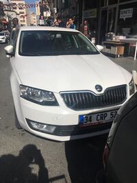 2017 Skoda Octavia 1.6 TDI CR 110 PS DSG GRNTEC OPTIMAL (E) Kağıthane