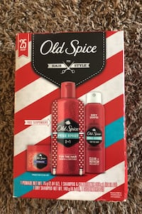Old Spice hair products