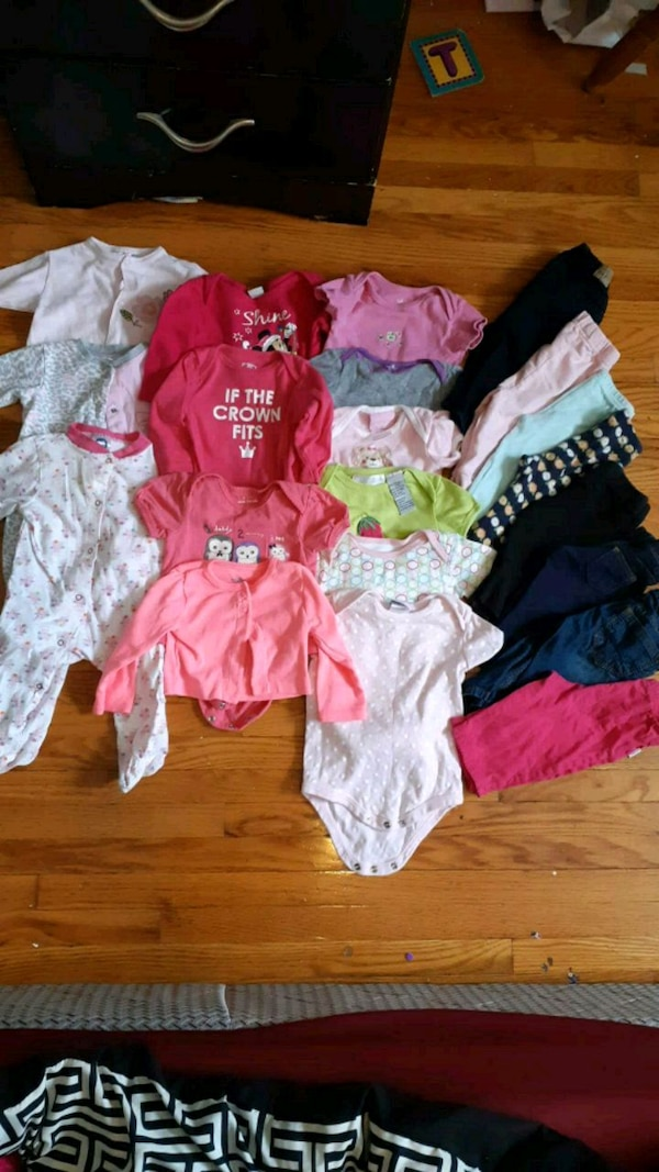 Babygirl lot size 3-6 months