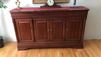 Brown wooden cabinet with drawer Plymouth, 02360
