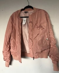 Pink Bomber Jacket from Fashion nova Los Angeles, 90032
